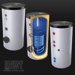 Solar- und Warmwasserspeicher