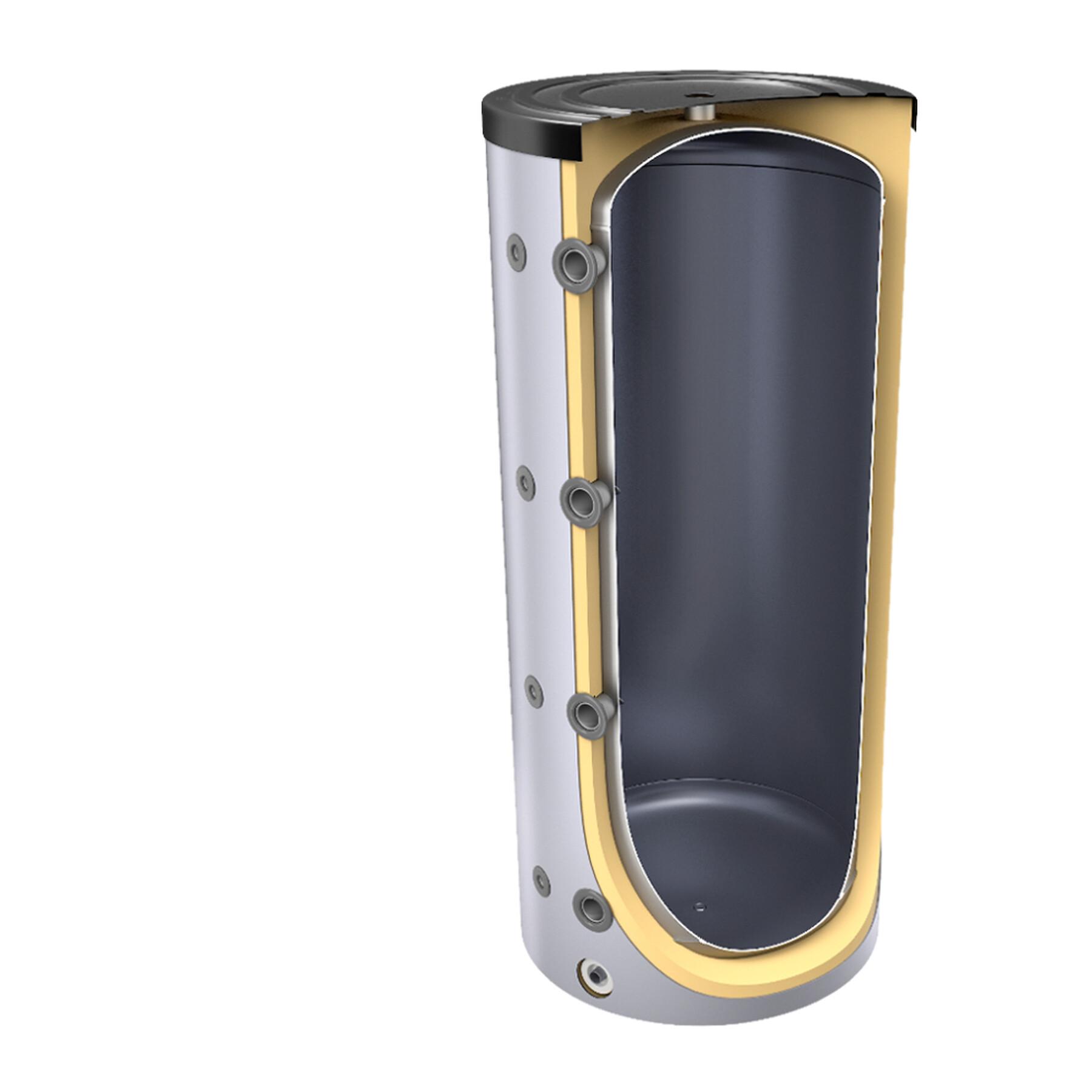 300 liter pufferspeicher ohne w rmetauscher inkl. Black Bedroom Furniture Sets. Home Design Ideas